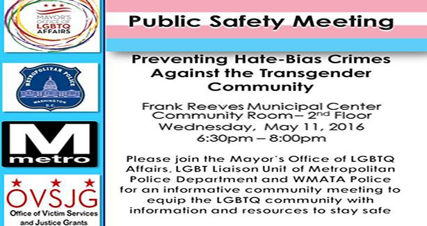 Preventing Hate-Bias Crimes Against the Transgender Community
