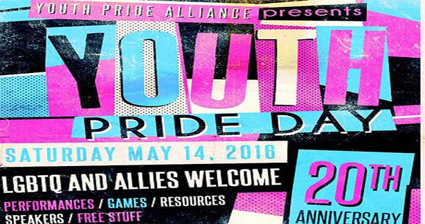 Youth Pride Day Flyer