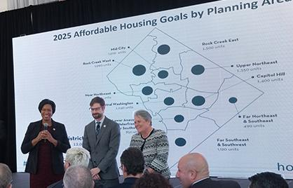 Mayor Kicks Off DC Housing Week with Release of Housing Equity Report and Full Draft Comprehensive Plan