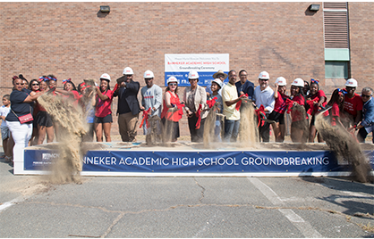 Banneker Academic High School Ground Breaking
